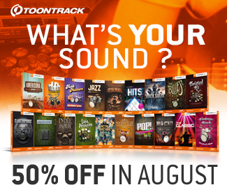 ToonTrack Expansion Packs 50% off at Plugin Boutique