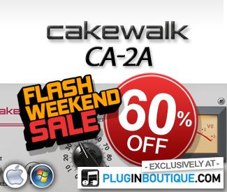 Cakewalk CA-2A 60% off sale at Plugin Boutique