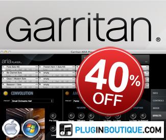 40% off Garritan at Plugin Boutique