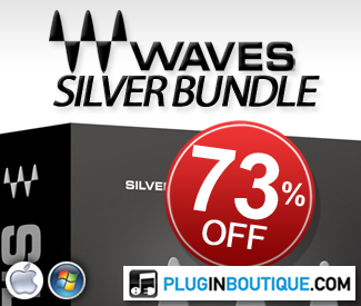 Throughout September save a massive 73% off Waves Silver Bundle!