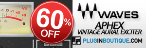 Waves Aphex Vintage Aural Exciter 60% off sale!