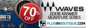 Waves Eddie Kramer Signature Series Black Friday Sale