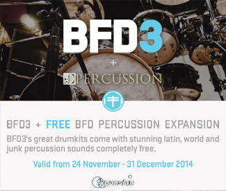 Fxpansion BFD3 + Percussion Pack