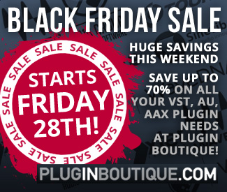 Black Friday coming soon at Plugin Boutique