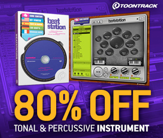 ToonTrack's all in one Beatstation is currently the cheapest it has ever been in the Plugin Boutique store!