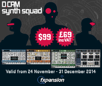 Fxpansion's award winning performance synth DCAM Synth Squad is currently 60% off at Plugin Boutique.