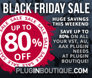 Black Friday Sale at Plugin Boutique