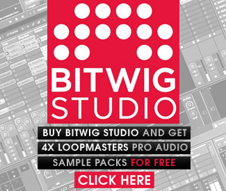 Bitwig Studio now available at Plugin Boutique