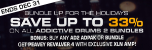 XLN Audio Producer Bundle + Free Peavey Revalver 4