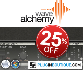 Wave Alchemy Kontakt Instruments are currently 25% off at Plugin Boutique.