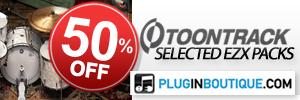 ToonTrack EZX Packs Winter Sale