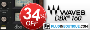 Waves dbx® 160 Compressor / Limiter Introductory Sale