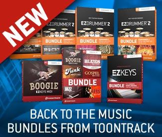 New Toontrack Bundles