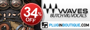 Waves Butch Vig Vocal Introductory Sale