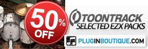 ToonTrack EZX Packs May Sale