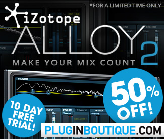 iZotope Alloy 2 50% Sale