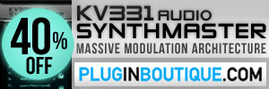 KV331 Audio Synthmaster Exclusive Introductory Sale