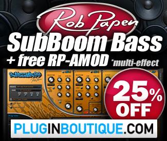 Rob Papen SubBoom Bass 25% Sale