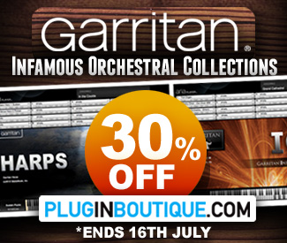 Garritan Summer 30% off Sale