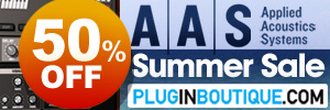 Applied Acoustics Systems Pro Instruments Summer Sale