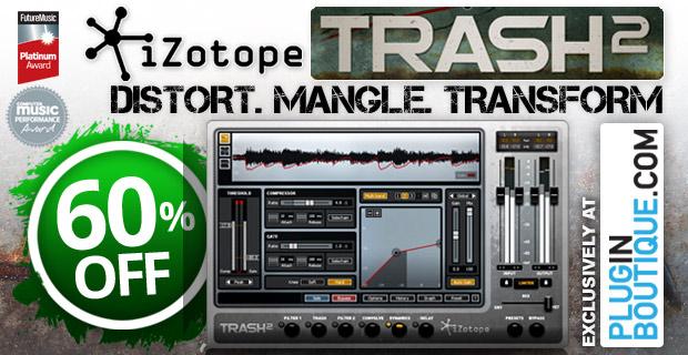iZotope Trash2 New Website Exclusive
