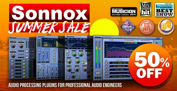 Sonnox Summer Sale