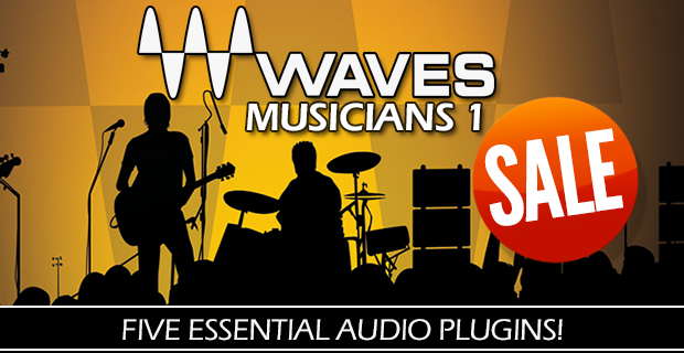 Waves Musicians 1 One Day Sale