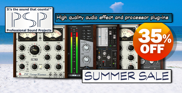 PSP Audioware Summer Sale