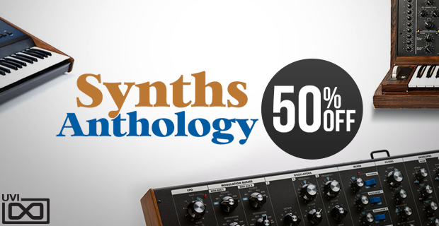 UVI Synths Anthology Weekend Sale