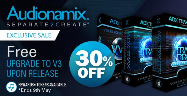 Audionamix pluginboutiquev3sale