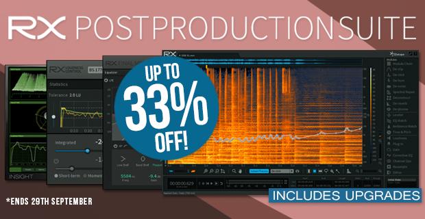 iZotope RX Post Production Suite Sale