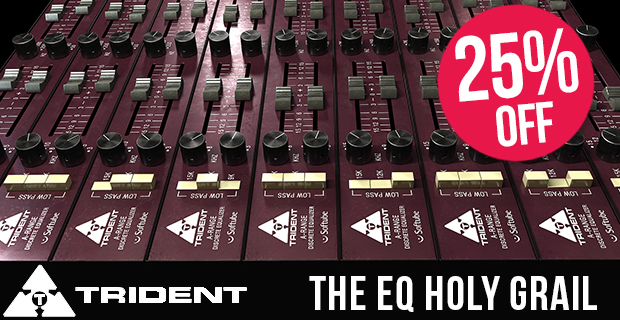 Softube Sale: Save 25% off Trident A Range at Plugin Boutique