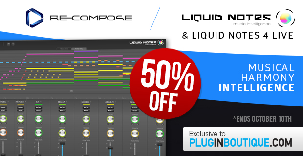Recompose Sale: Save 50% off at Plugin Boutique