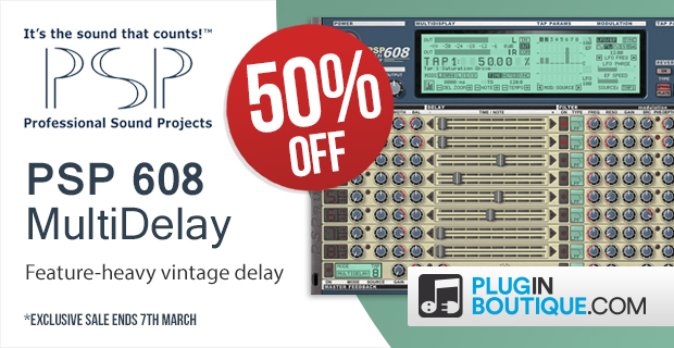 PSP 608 MultiDelay Sale (Exclusive)