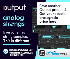 300x250 output analog strings banner pluginboutique