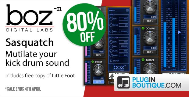 Boz Digital Labs Sasquatch Kick Machine Sale