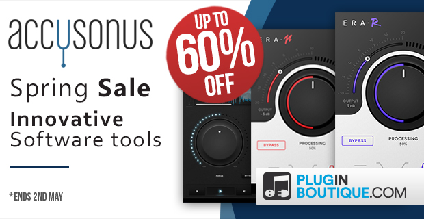 Accusonus Spring Sale