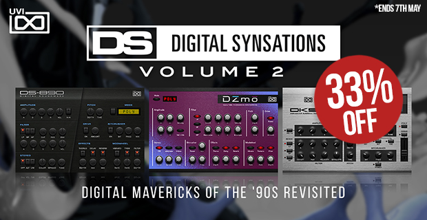 UVI Digital Synsations Volume 2 Introductory Sale