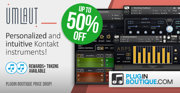 Umlaut Audio Price Drop: Save up-to 50% off at Plugin Boutique