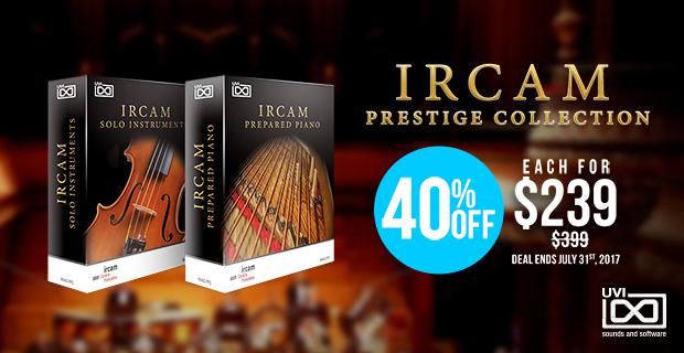 UVI IRCAM Collection Sale