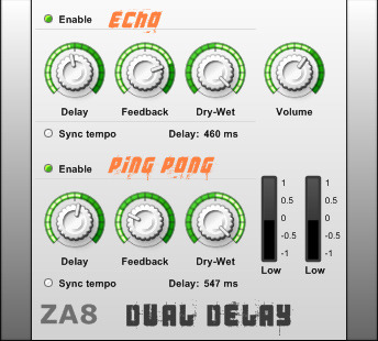 ZA8 Dual Delay