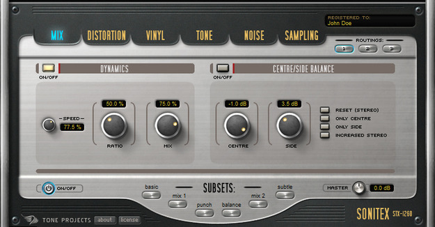 Sonitex STX-1260