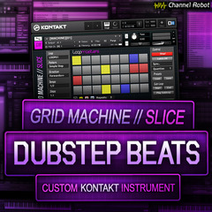 Grid Machine Slice - Dubstep Beats