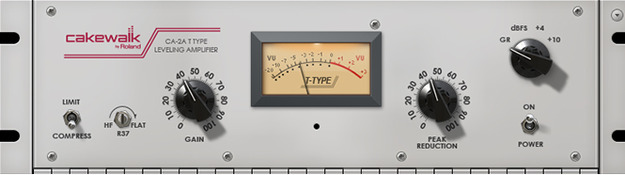 CA-2A T-Type Leveling Amplifier