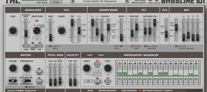 Bassline 101 userinterface original