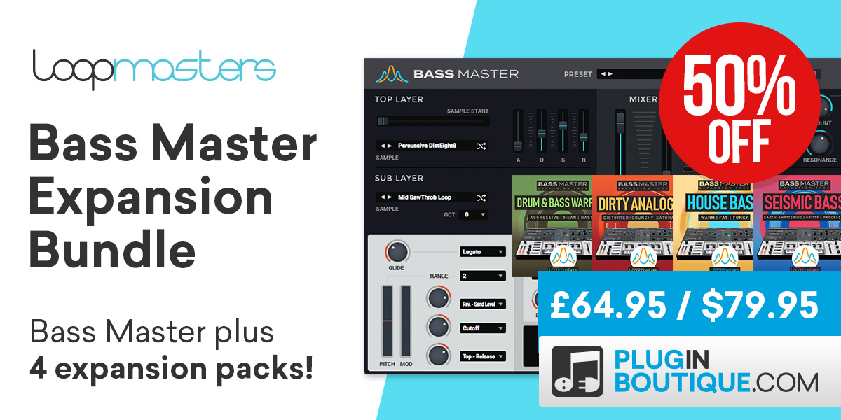 14 loopmasters bassmaster bundle cybermonday 1200x600