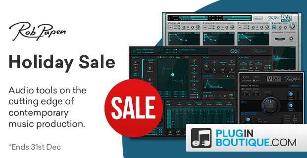 620x320 robpapen holidaysale pluginboutique