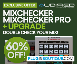 300x250 mixchecker  mixchecker pro and update 60 off pluginboutique.com
