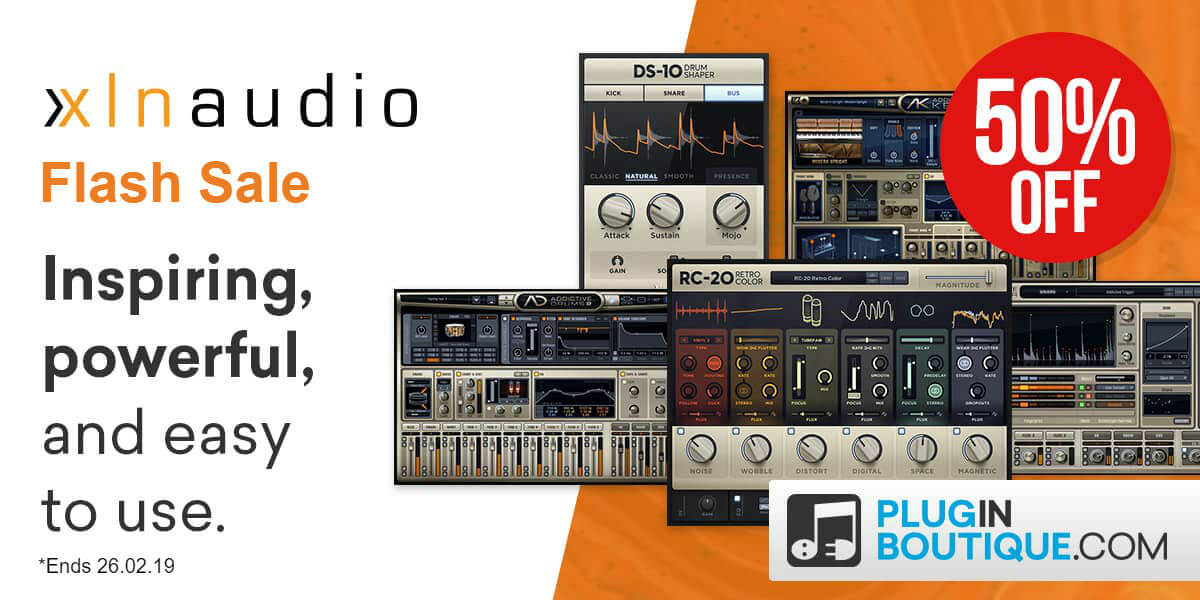 Xln audio flash sale   plugin boutique 1200