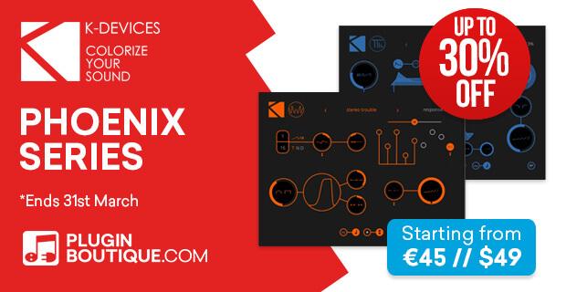 K-Devices Phoenix Series Plugin Sale (Exclusive)